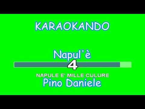 Karaoke italiano - Napule è - Pino Daniele - ( testo )