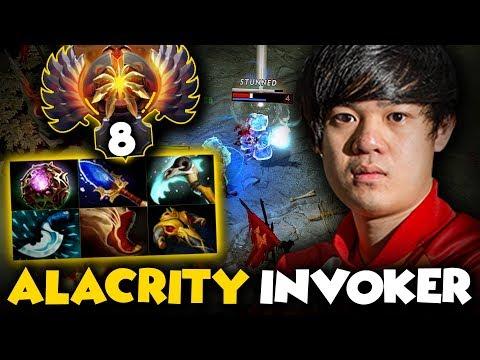 TOP 8 SEA Rank AlaCrity Plays Invoker...