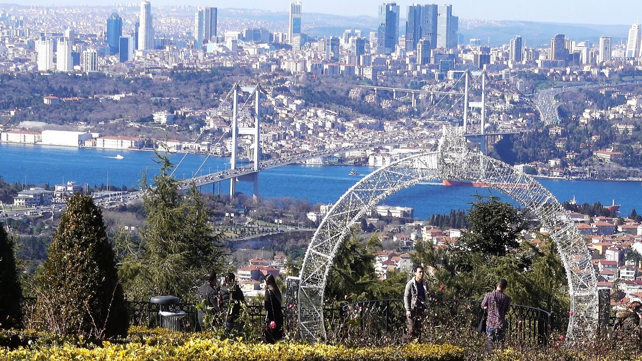 #Istanbul - Çamlıca Tepesi - Şubat 2020 - 4K UHD
