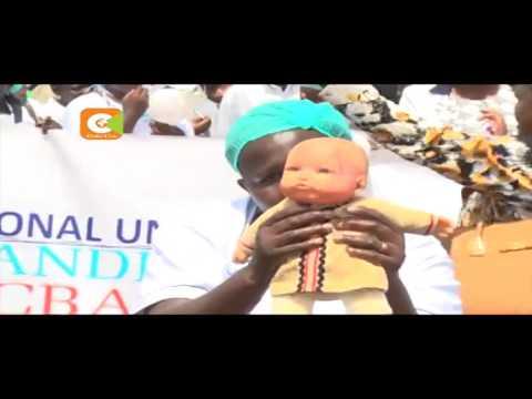 Wauguzi kutoka kaunti 4 waandamana mjini Eldoret