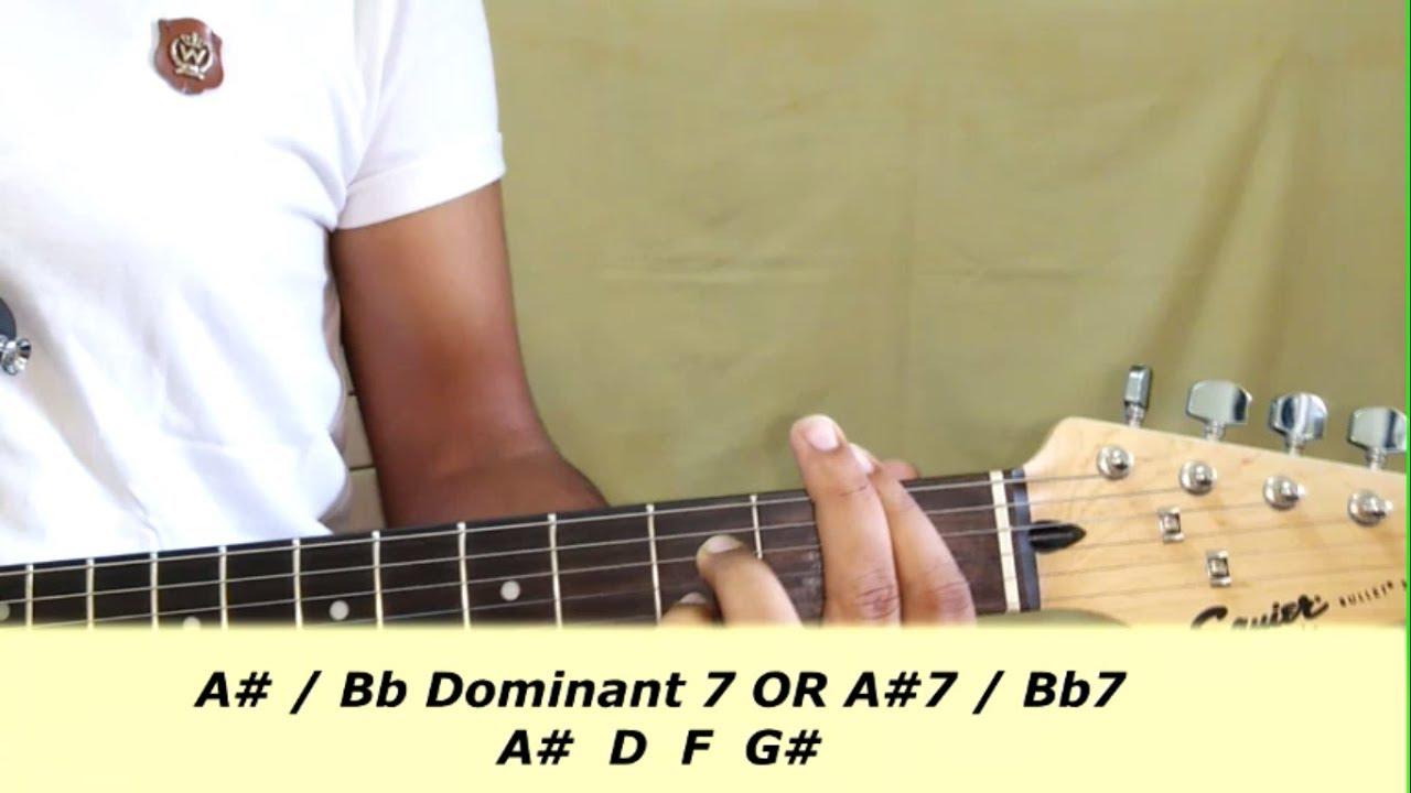 A7bb7 A7bb7 Guitar Chord Guitar