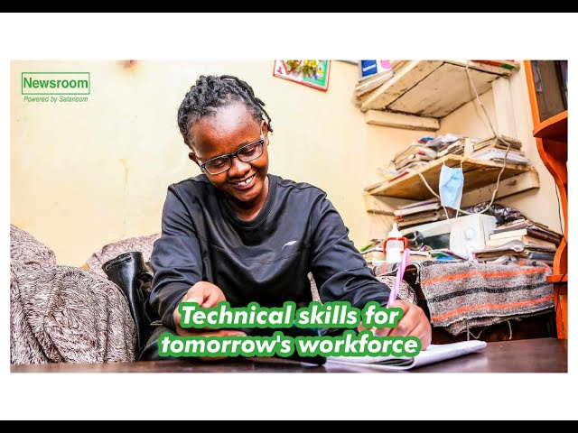 In a rapidly changing job market, the youth can look to the future with hope