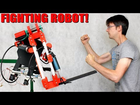 Pneumatic Fighting Robot Concept | XRobots