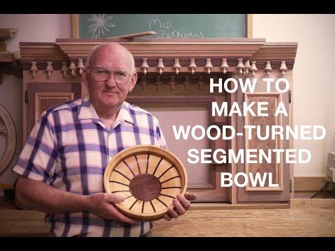 Wood Turning Segmented Bowls