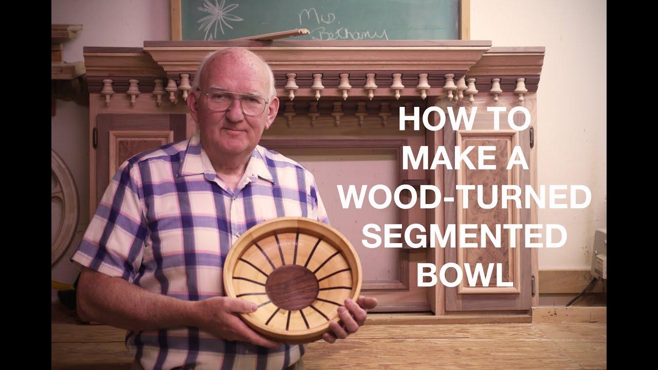 Wood Turning Segmented Bowls - YouTube