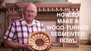 Wood Turning Segmented Bowls