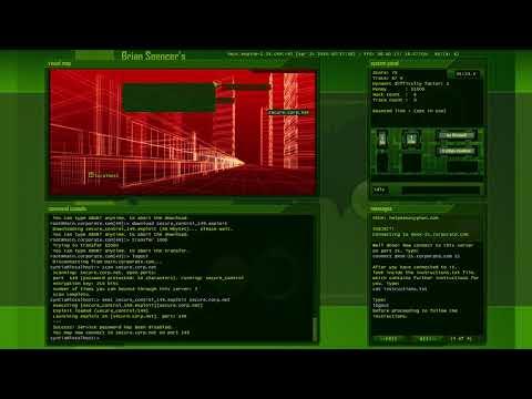 Playing Hacker Evolution Untold Games || CYNTIA MEILANDA |