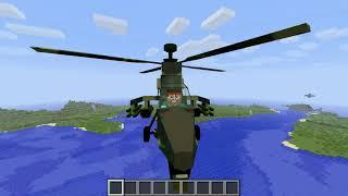 Minecraft Mod Showcase - MC Helicopter[1.6.4]