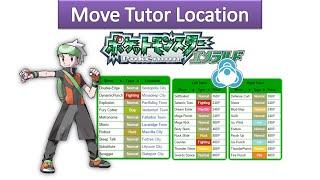 Gambar cover Pokemon Emerald - All Move Tutor Locations