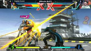 The Break #149 - UMvC3 L5 - Captain Crunch VS Omen