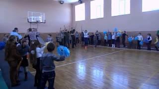 Спортивный праздник ко дню вооруженных сил Украины в СШ №2 г.Очакова
