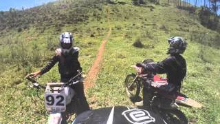 Trilha com os Amigos - Xre 300, Crf 230 e DT 180. So o Monstro que Subiu. Part 12