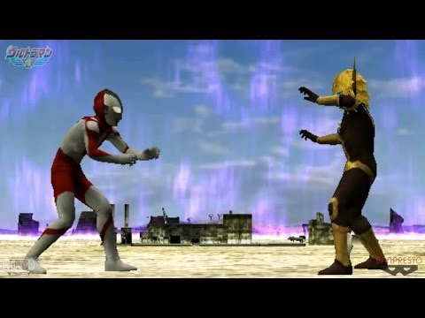 Ultraman Story Mode End pt.4/4 ϟ Ultraman Fighting Evolution 0 ★PSPinG ウルトラマン