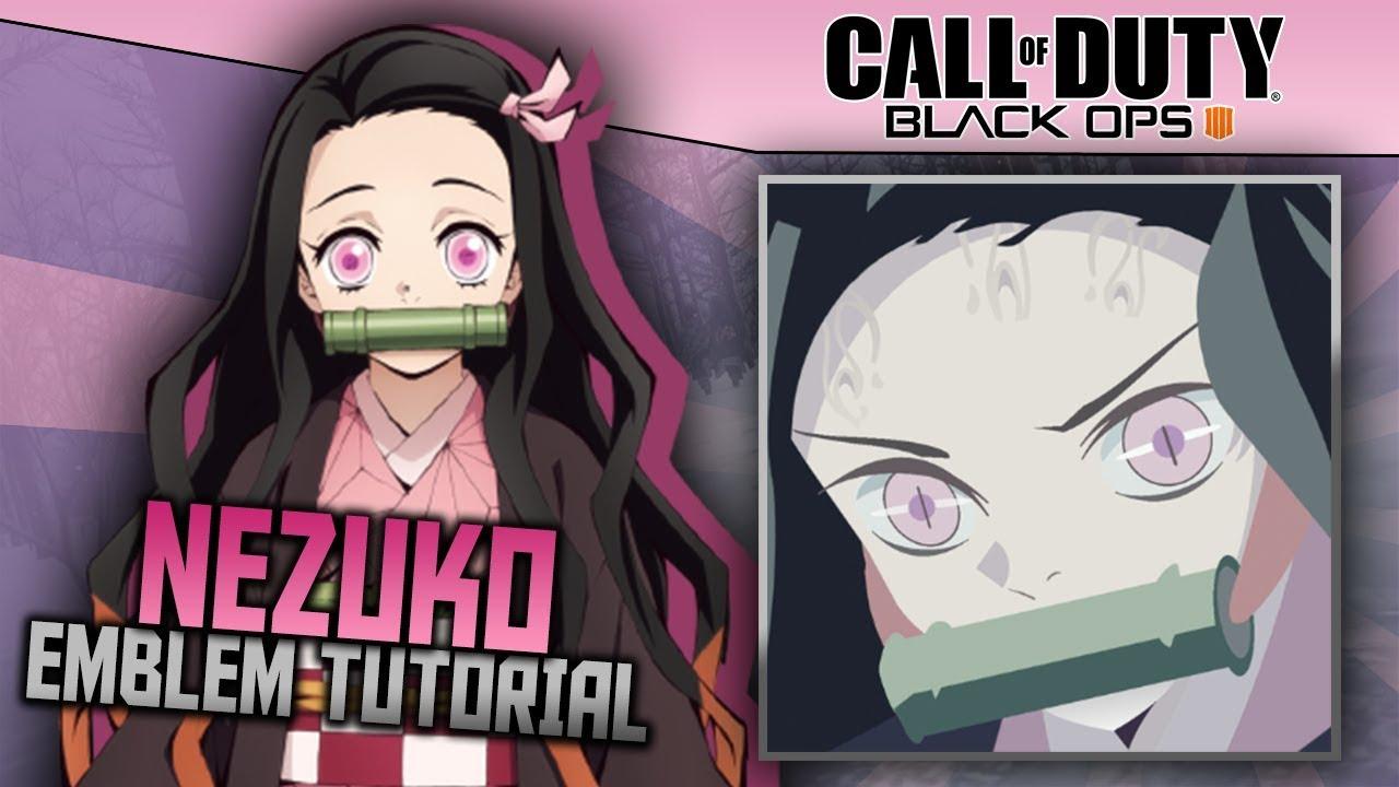 Black Ops 4: Nezuko (Demon Slayer)   Anime Emblem Tutorial