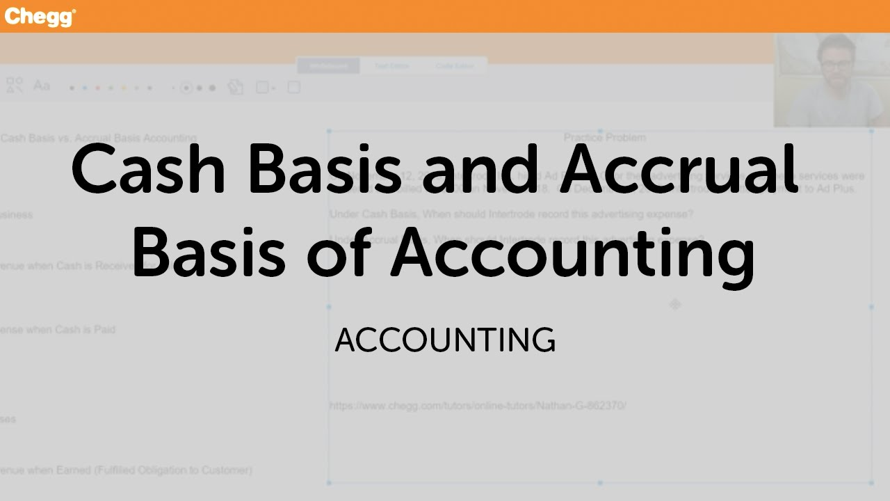 accrual basis vs cash basis The cash basis and accrual basis of accounting are two different methods used to record accounting transactions the core underlying difference between the two methods is in the timing of.