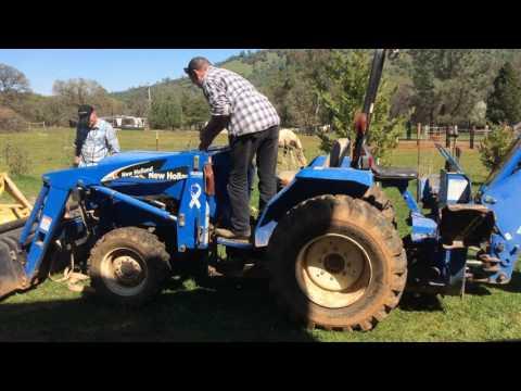 New Holland Tractor Engine EstateTool Barn Sale Browns Valley CA