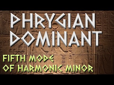 Writing Exotic Music with Phrygian Dominant- 5th mode of Harmonic Minor [MUSIC THEORY - SCALES]