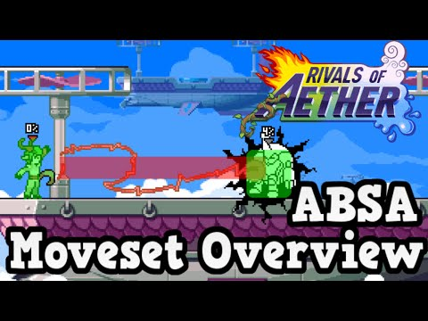 Rivals Of Aether Absa Character Moveset Overview / Guide And Tutorial
