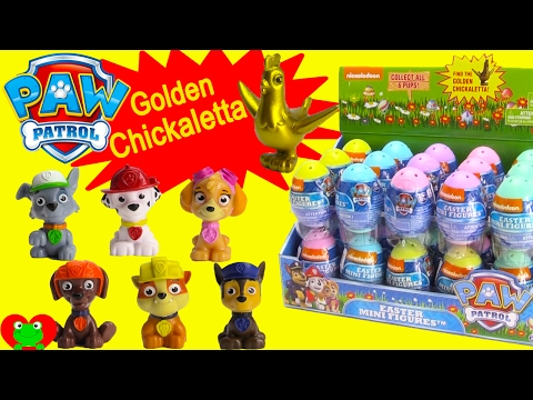 Thumbnail: Paw Patrol Surprise Egg GOLDEN Chickaletta