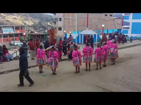 La Danza de las Pallas del Distrito de Aparicio Pomares chupan