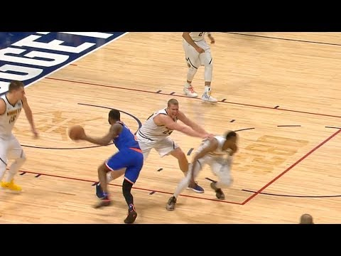 Mason Plumlee Pushes His Own Teammate - Shaqtin' A Fool Moment | 2018-19 NBA Season