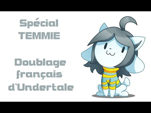 [FR] Undertale - Spécial Temmie (French Cover and Dub)