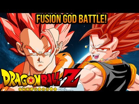 DragonBall Z: Super Saiyan God Gogeta VS Super Saiyan God Vegito