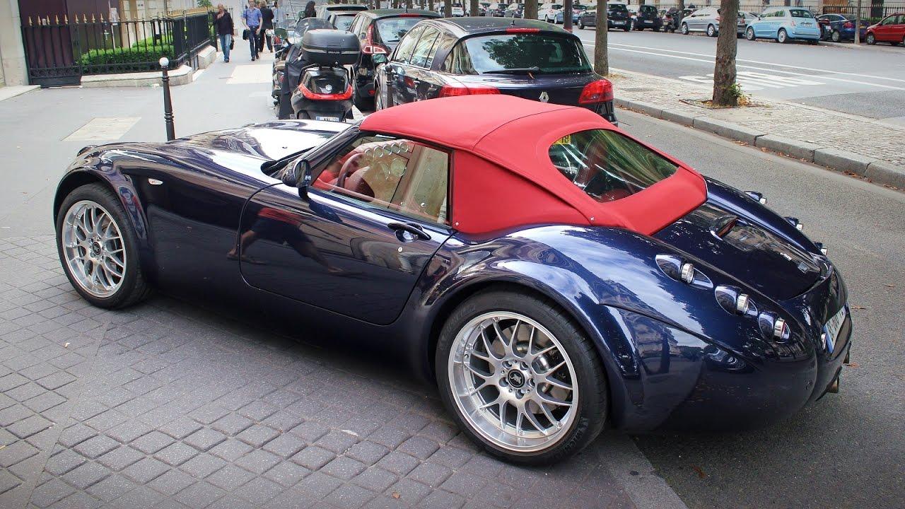 Wiesmann Roadster MF4 in Paris - YouTube