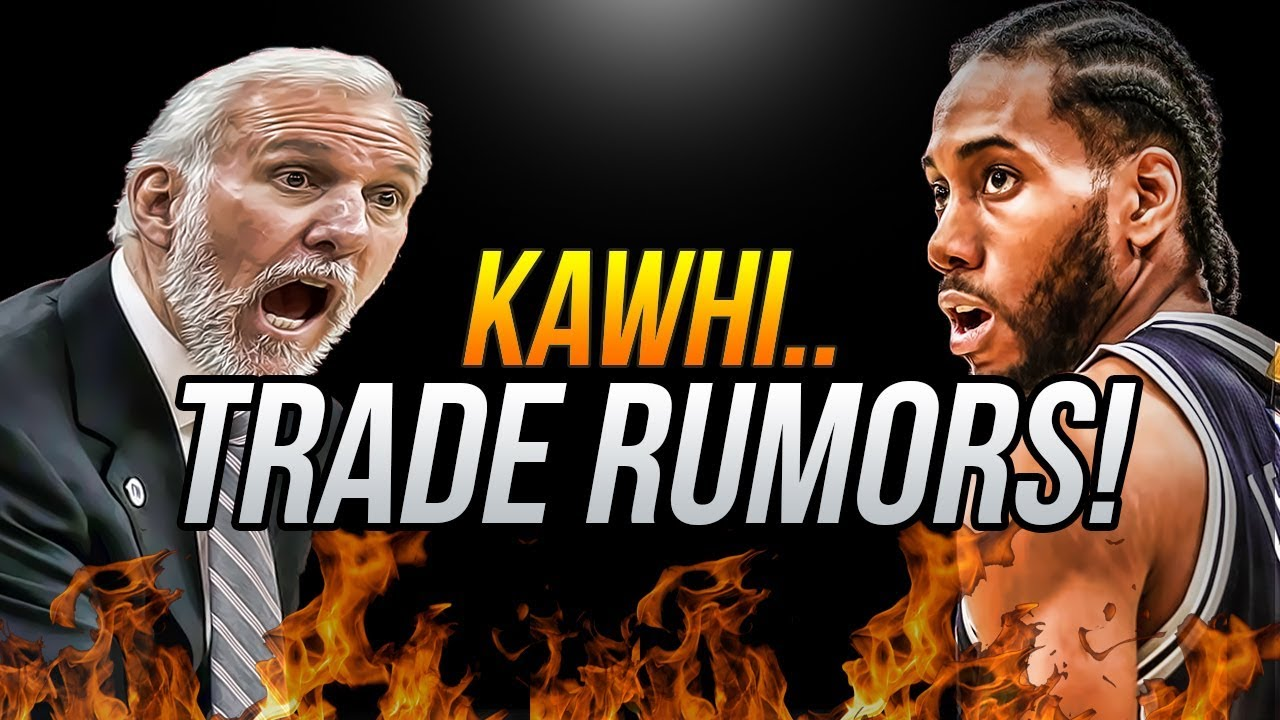What trading Kawhi Leonard does to the Spurs' timeline