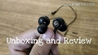 Audio Technica ATH COR150 Unboxing and Review best earphones under Rs1000