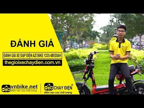 Đánh giá xe đạp điện Azi Bike 133S 48v20ah