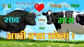 Talking Tom Hindi - Aati Kya Tabela आती क्या तबेला Funny Comedy Song - Talking Tom Funny Song