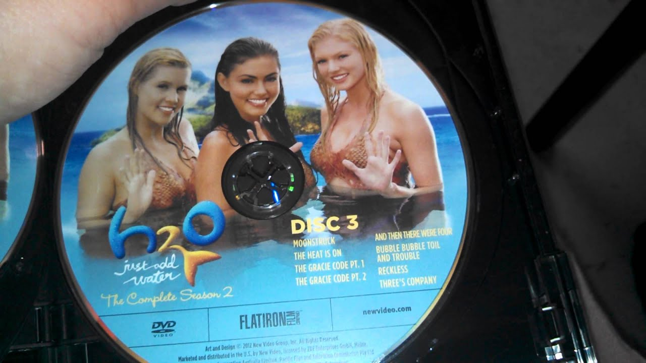 H2o just add water season 2 dvd unboxing youtube for H2o season 2