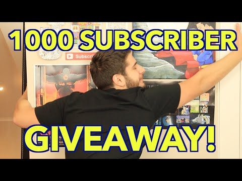YOUTUBE SUBSCRIBER GIVEAWAY