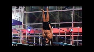 Faisal Kawusi springt überragend! - TV total Turmspringen
