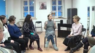 Обучение в клубе: хоровая школа. Актерское внимание и внутреннее ощущение времени