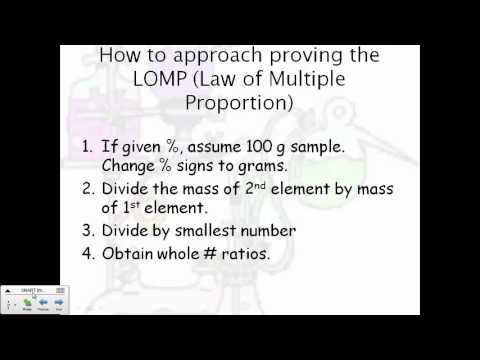 Printables Multiple Proportion law of multiple proportions youtube proportions