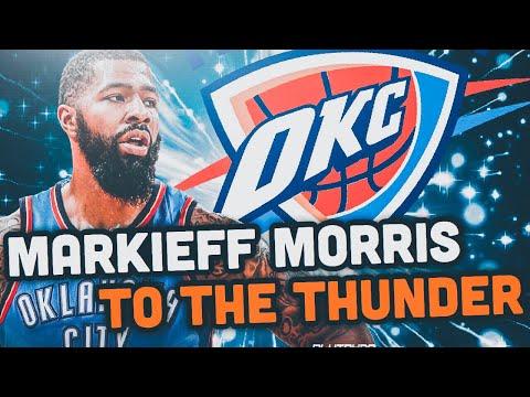 Markieff Morris SIGNS To The Thunder!.. Oklahoma City Thunder Rebuild! NBA 2K19