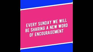 Free & Fit - A Word of Encouragement