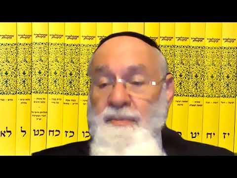 פרופסור הרב שטיינברג קורונה התחסנות וקדימויות