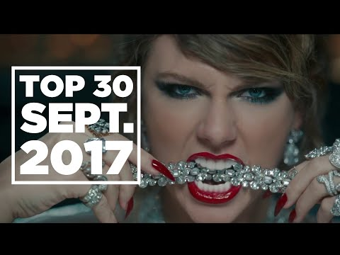 Top 30 Songs Chart | September 2, 2017 | 洋楽 ヒット チャート 最新