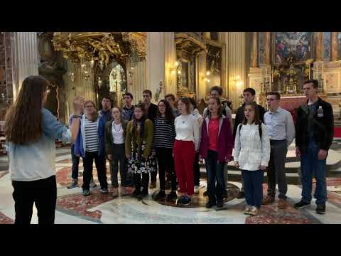 Chesterton Academy Sings Rome 2019