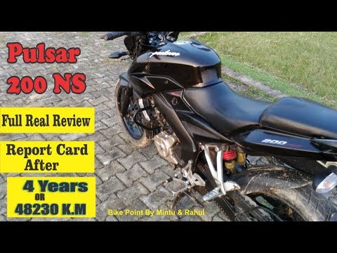 Bajaj Pulsar 200 NS Price Mileage Real Review Report Card After 4 Years & 48230 K M In Hindi