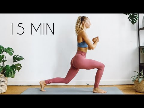 15 MIN AT HOME LEG/BUTT/THIGH WORKOUT (No Equipment)