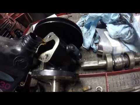 Sea Ray seawater pump rebuild