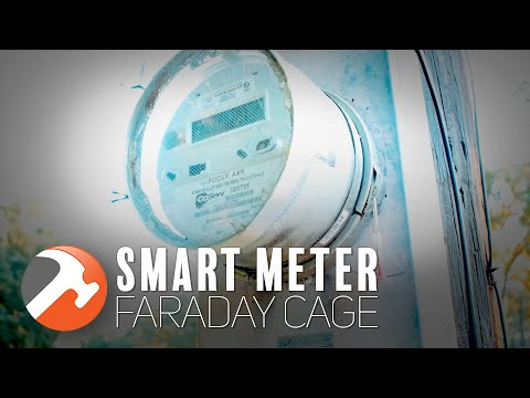 Build an RF Blocking Faraday Cage For Your Smart Meter +Bonus Faraday Science/History