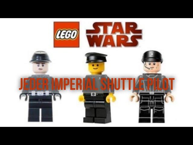 Alle Imperialen Shuttle Piloten Minifiguren [2001-2021]