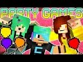 Minecraft Party Games with Gamer Chad & SallyGreen | Fun & Short Minigames