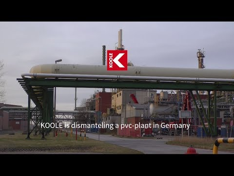 KOOLE Contractors is currently dismantling a pvc-plant in Germany