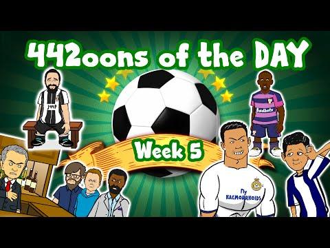 Ronaldo sore throat! Mourinho loses to Watford! Atletico beat Gijon! 442oons of the Day - Week 5!